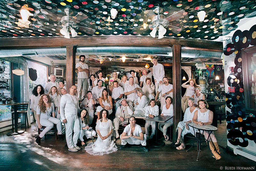NOS 2015 artists at the Wherehouse, Newburgh, NY