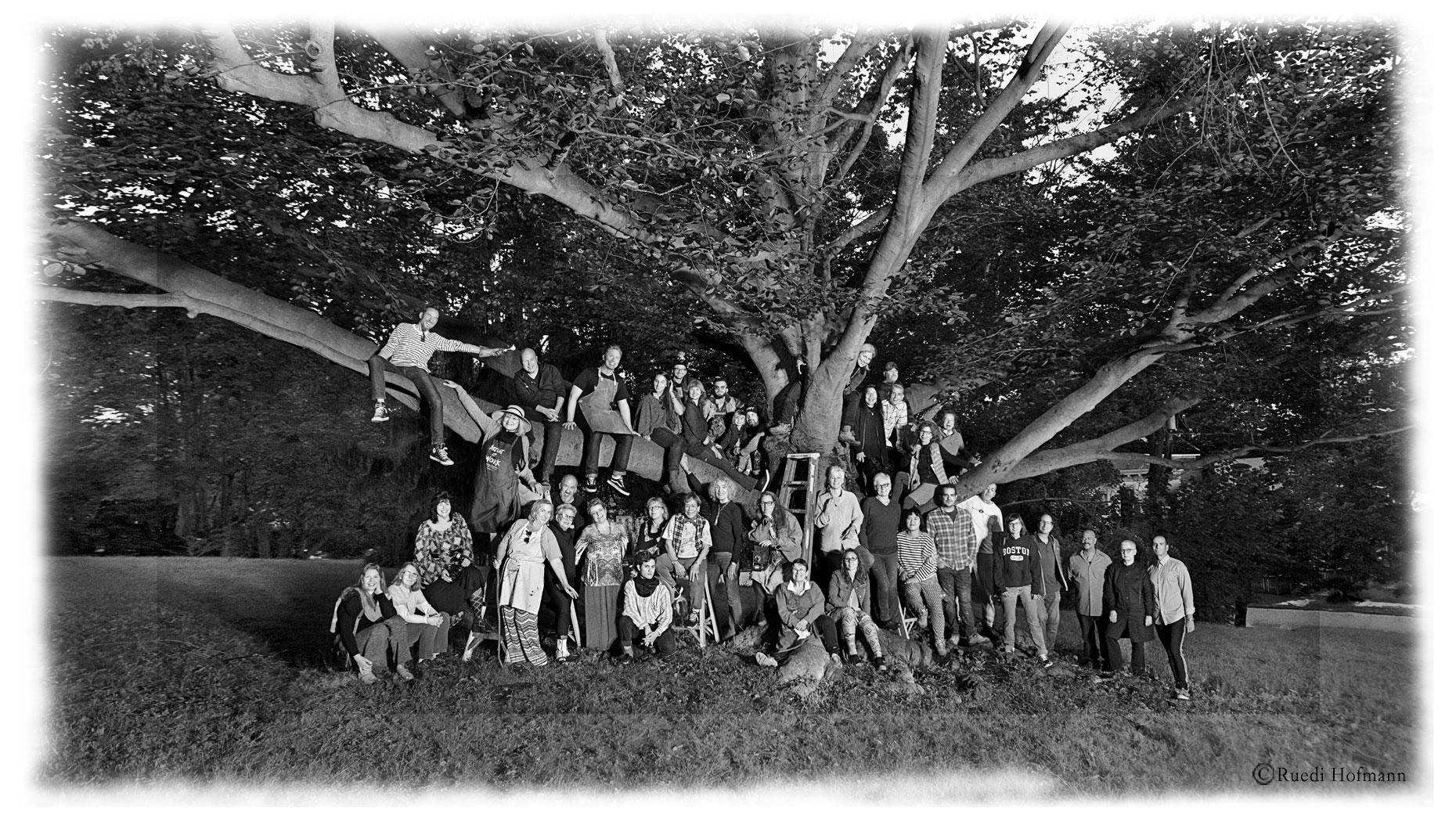 NOS 2018 artists at Downing Park, Newburgh, NY