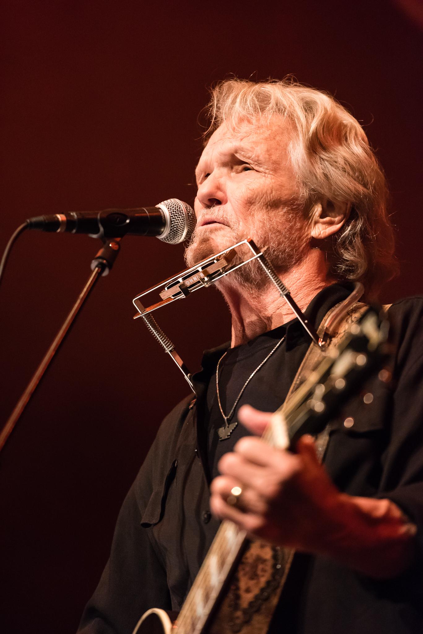 Kris Kristofferson at Roaming Roots Revue