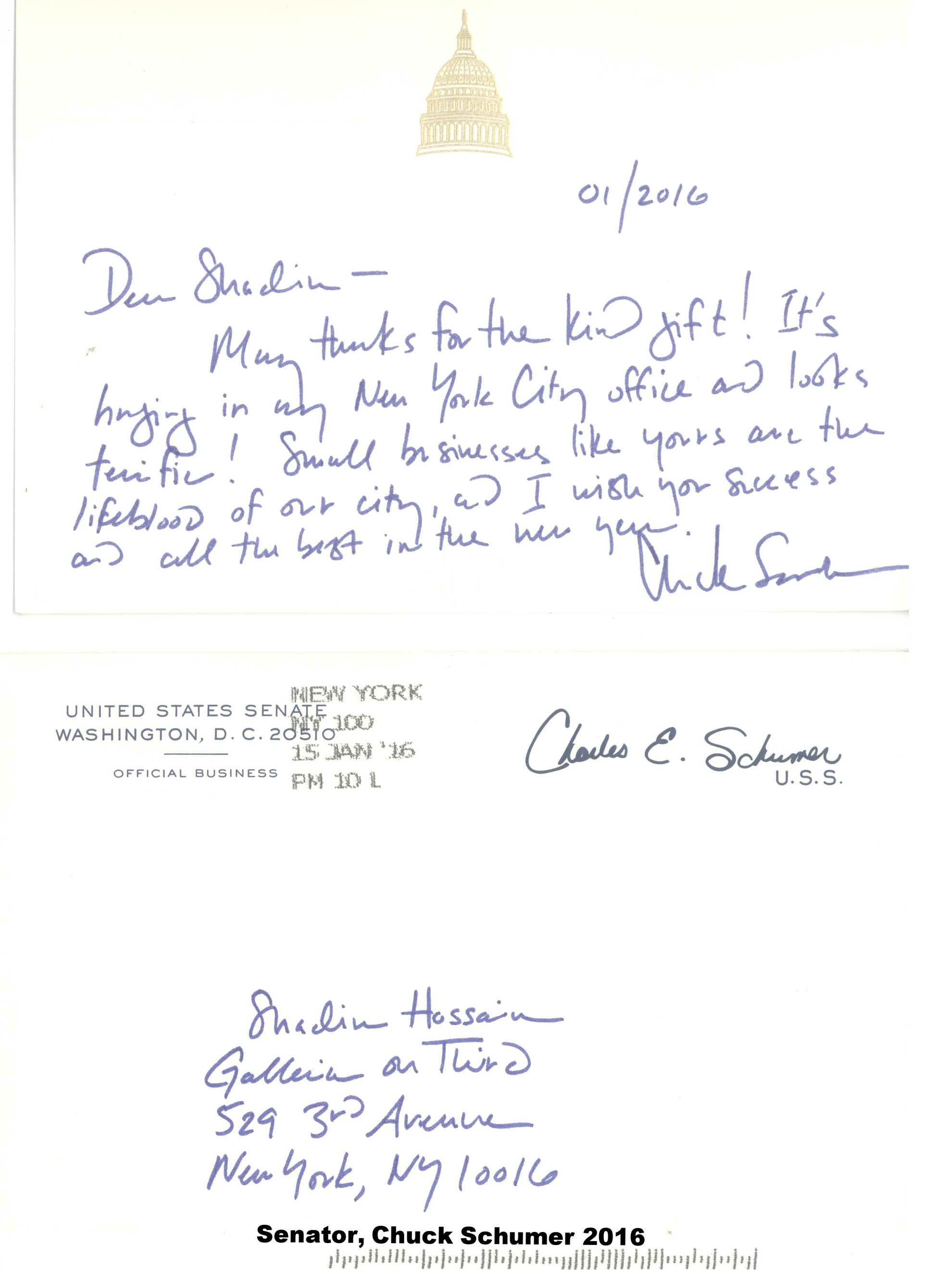 Letter from Charles E S 1jpg