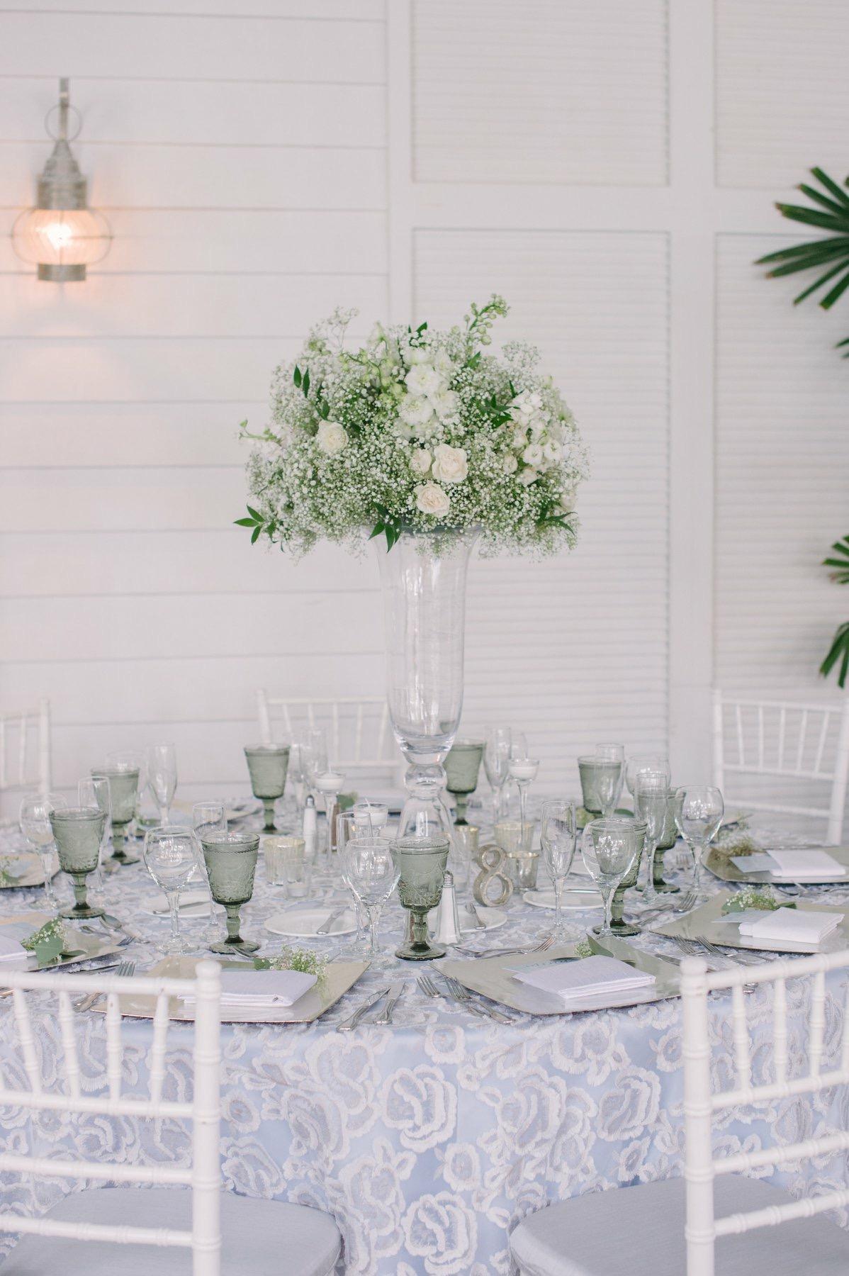Clarity and Class Nuage Linens Designer Wedding
