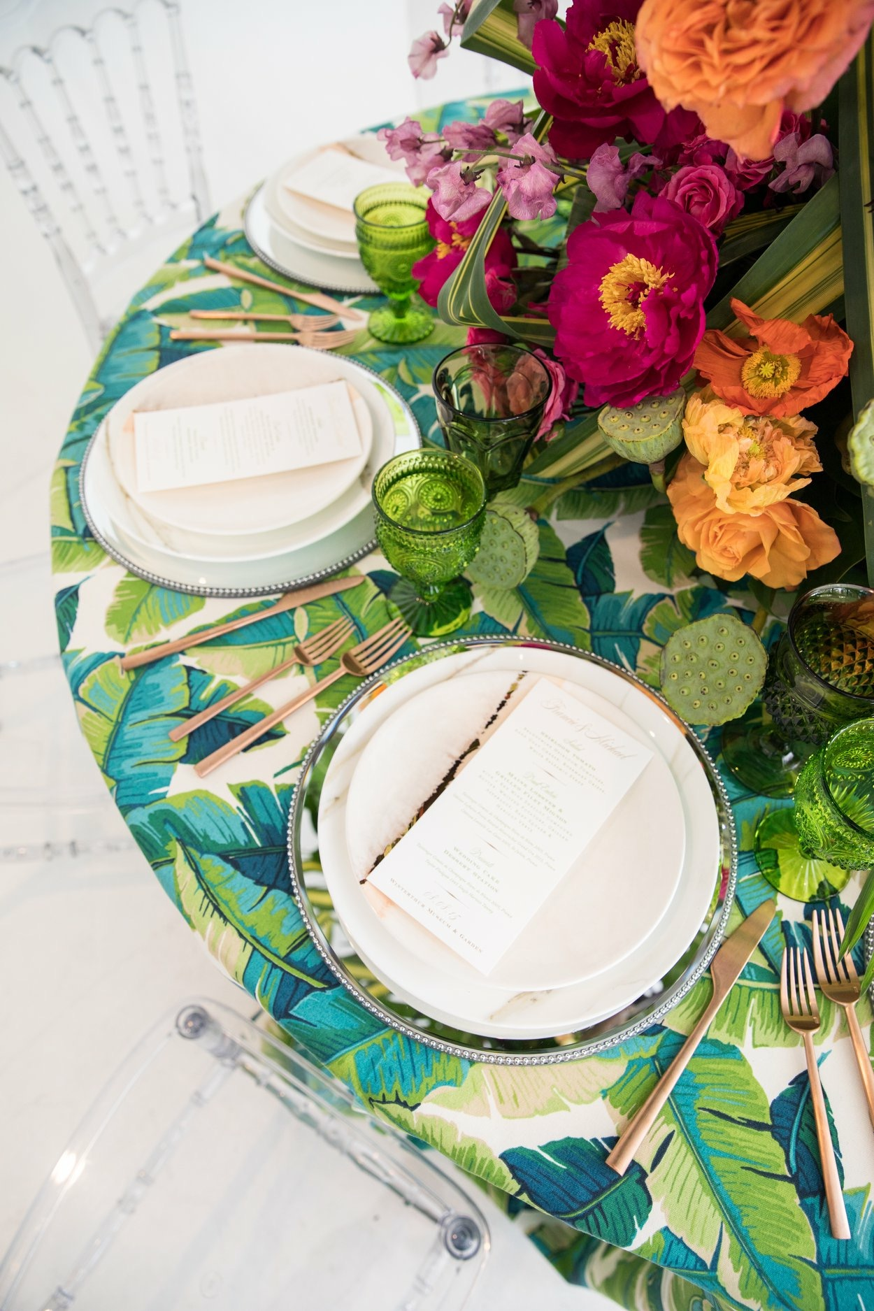 Clarity and Class Nuage Linens Luxury Wedding