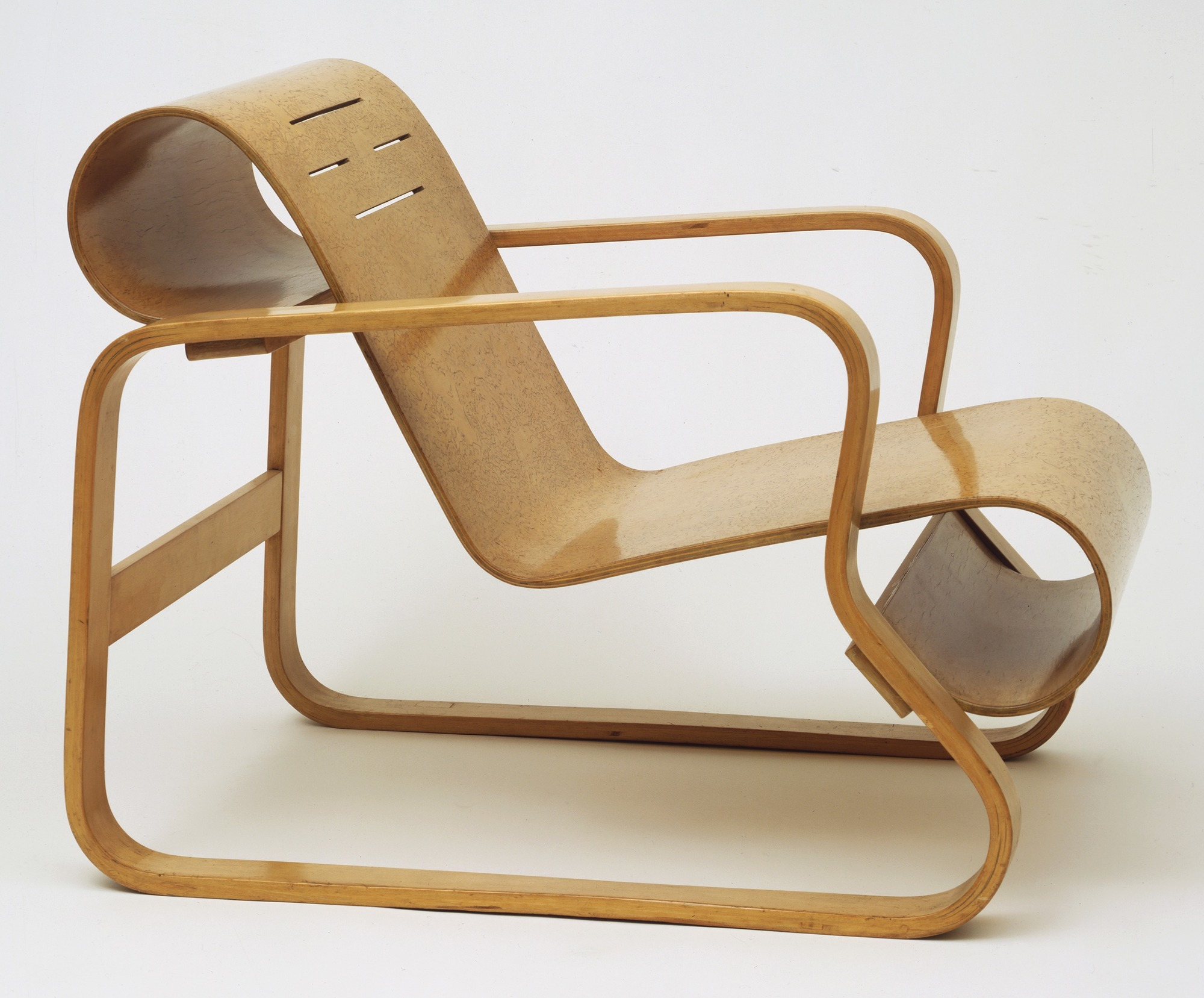Alvar Aalto Paimio Chair:  https://www.moma.org/collection/works/92879