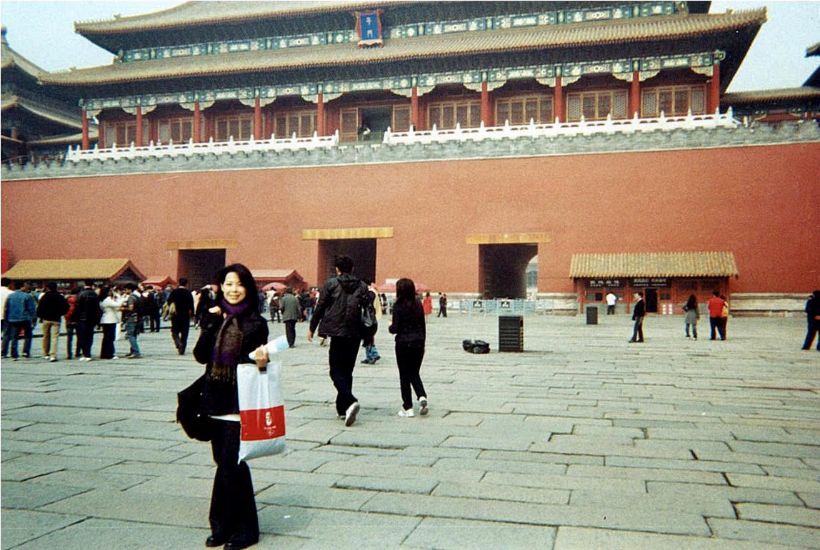 The Forbidden City - Yes, that's some shopping on my arm, don't you DARE judge me!