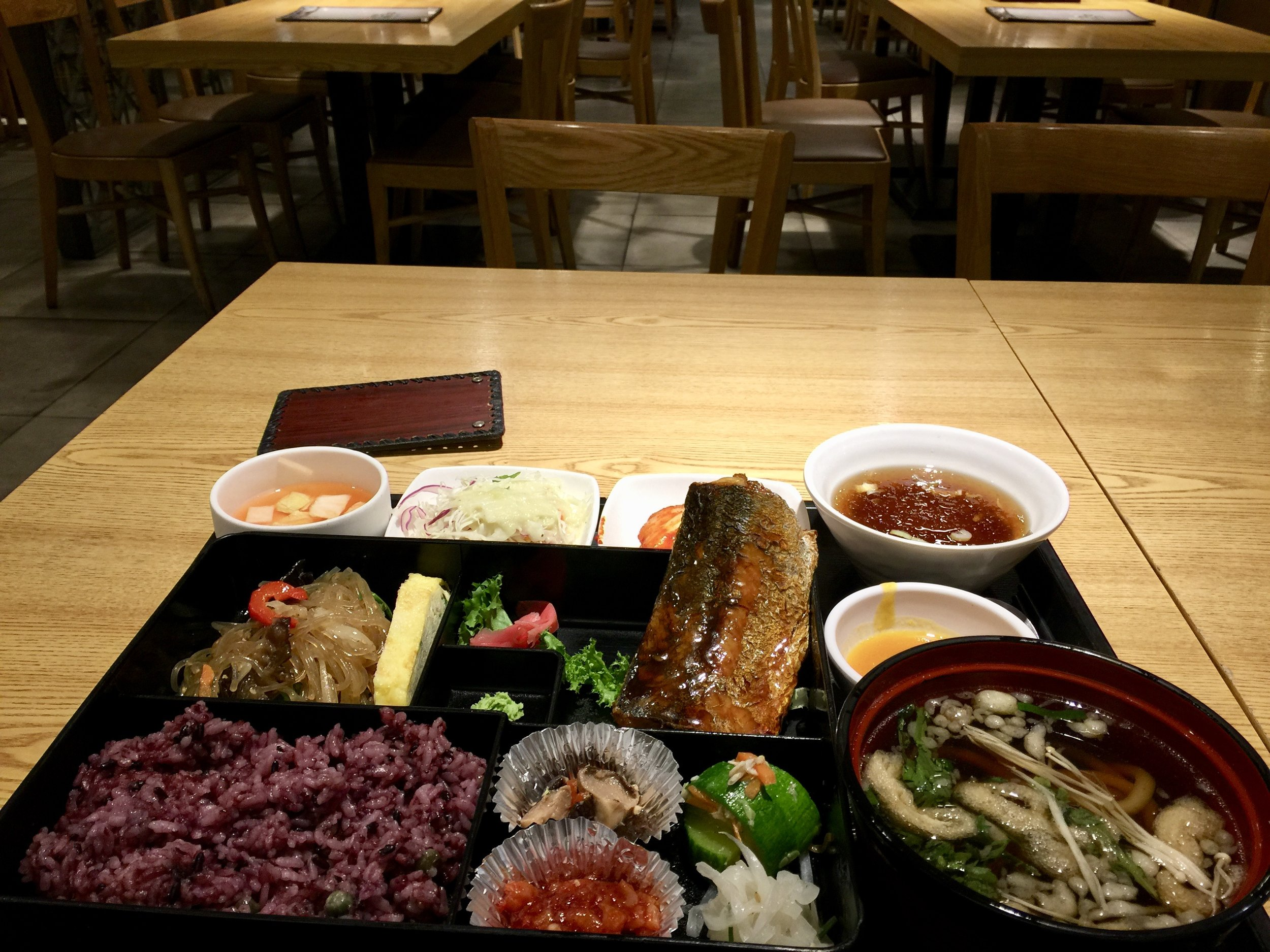Fantastic, healthy Korean meal