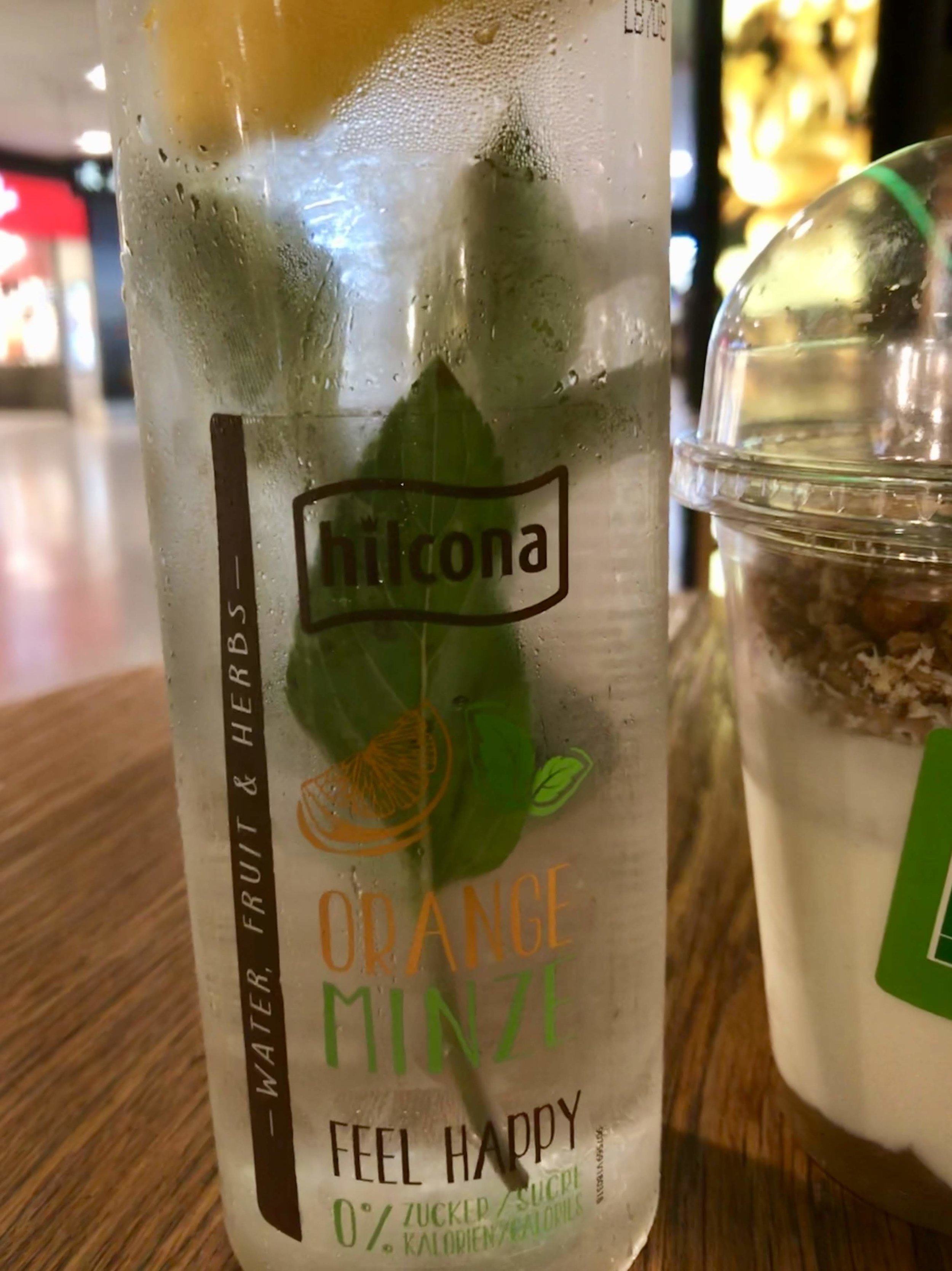 Hydrate! A lot! - I discovered this amazing cool water with natural fruit & mint leaves (Vienna Airport).