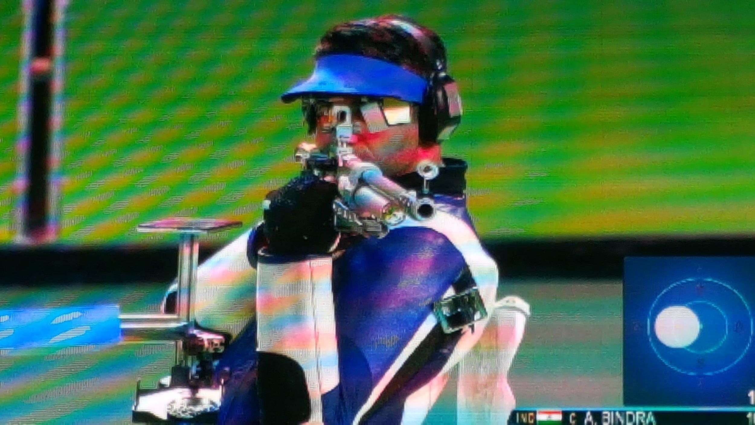 Abhinav Bindra in Rio 2016