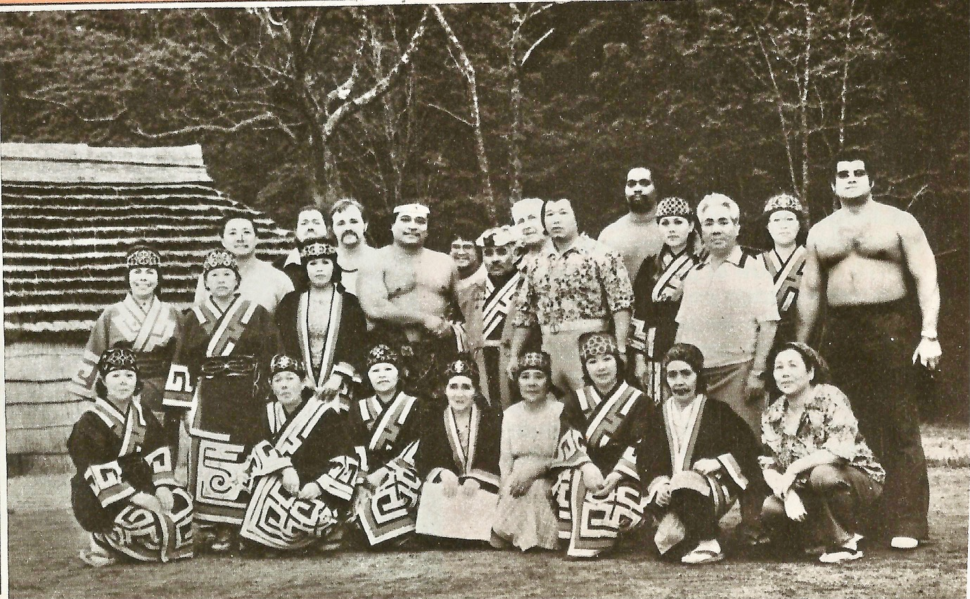 In Japan, where he toured often with Antonio Inoki and other greats
