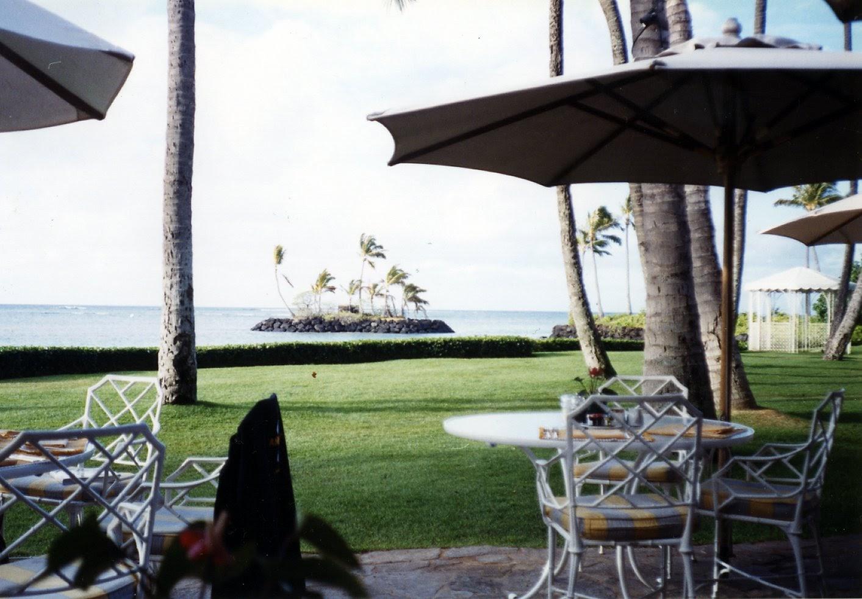 Breakfast at the Kahala in Oahu, Hawaii…heaven.