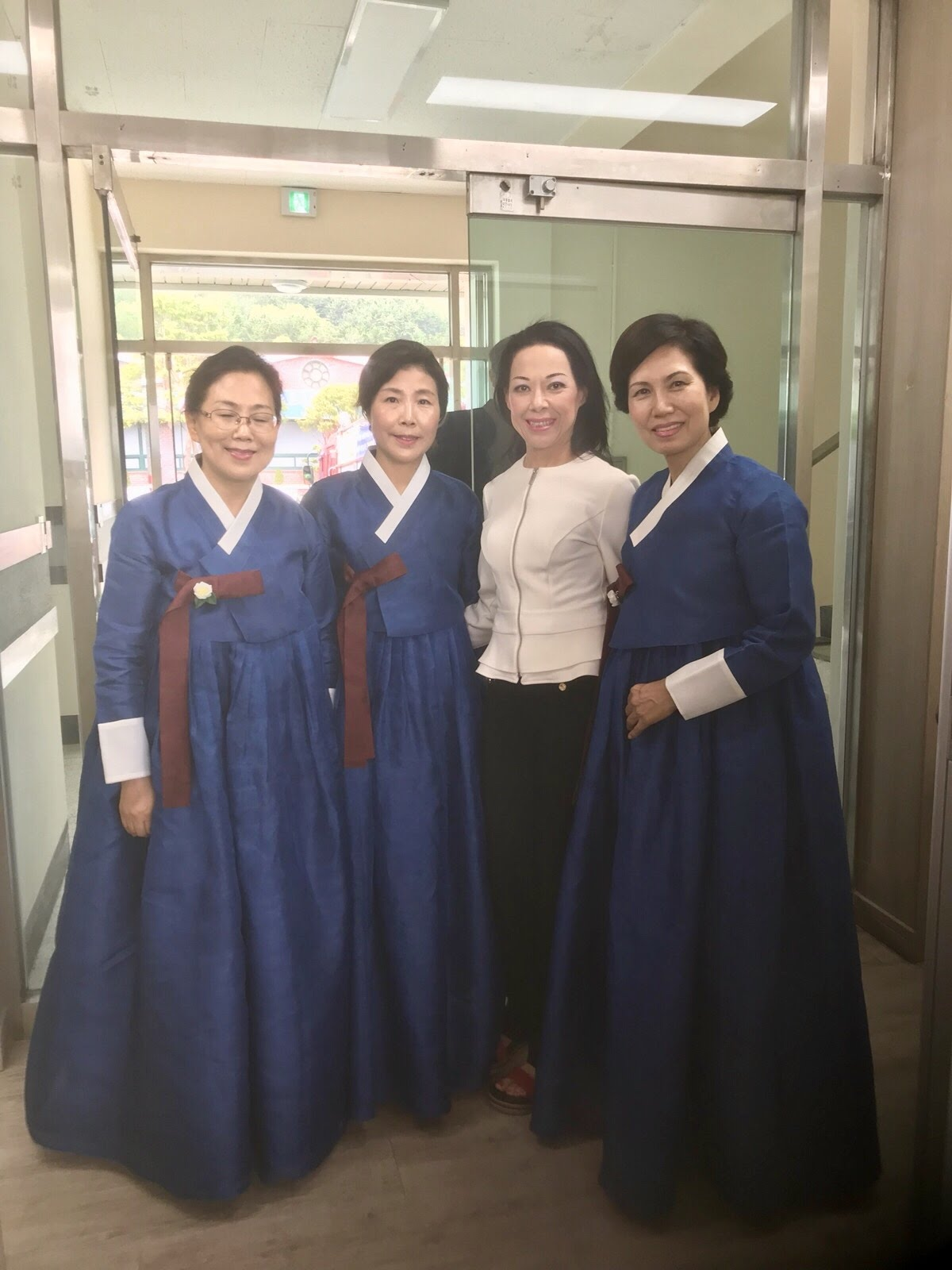 These ladies performed a tea ceremony at the VIP lounge every day. They always welcomed us with a smile and it was the best part of the day!