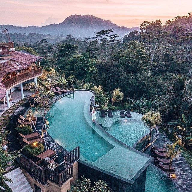 Good morning, everyone! I hope you have a beautiful day and just to let you know this is the house I'm buying as soon as I win the lottery.  #Repost @wondertravellers ・・・ A magical backdrop of infinity pools with a dreamy view of Mt. Agung 🌿 Do you prefer sunny sandy beach or serene mountain views like this? 👇 • Follow @borntraveller_ for more 😊 Follow @borntraveller_ for more 😊 Follow @borntraveller_ for more 😊 • 📸: @camillamilja • . . . .  #nature_wizards #ig_nature #travelguide #instatravelling #goexplore #doyoutravel #openmyworld #iamatraveler #travelers #travelstagram #ig_daily #travelandlife #natureonly #naturephotography #traveltheworld #bestvacations #nature_shooters #travelpics #passionpassport #landscapelovers #instatravel #nature_perfection #earthstogolist #naturelovers #worldplaces #traveling #ilovetravel
