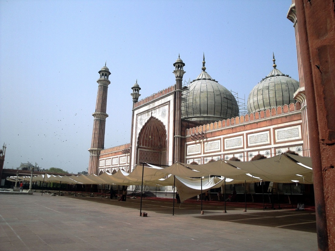 Jama Masjid Mosque, Old Delhi, India