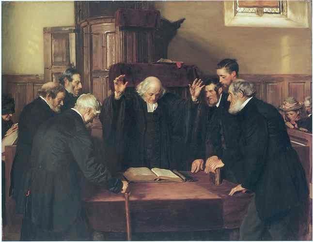 Presbyterian ordination.