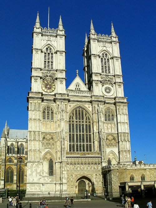 Westminster Abbey, home of the Jerusalem Chamber.