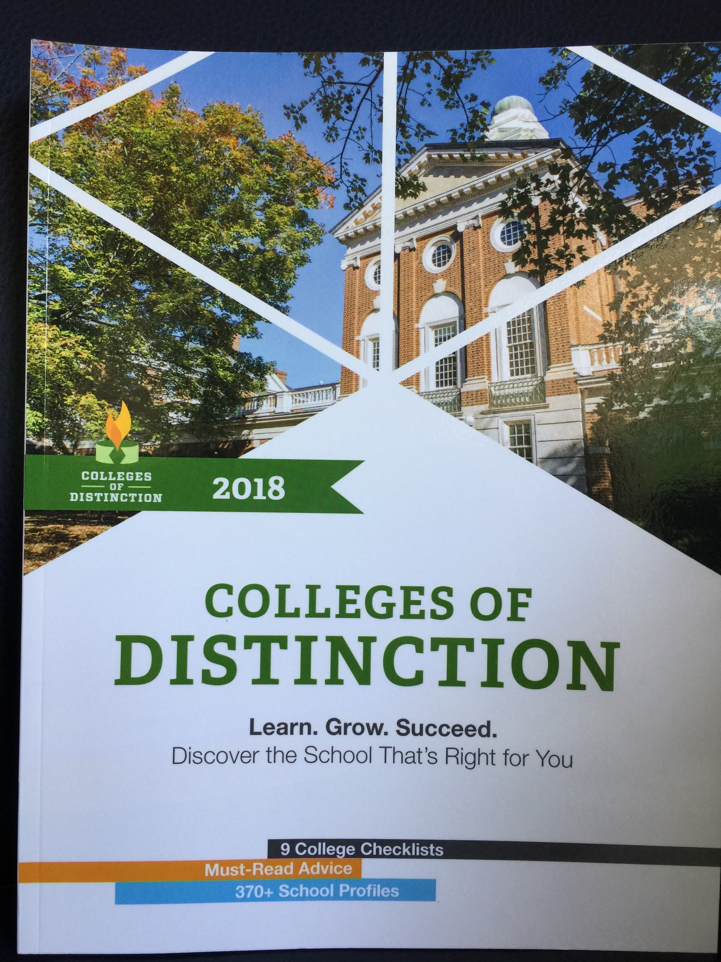 This one... - This guide book was created to help students and parents find colleges that may not have been considered originally, but might be exactly the right fit.