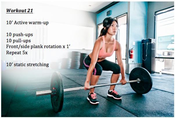 workout 21