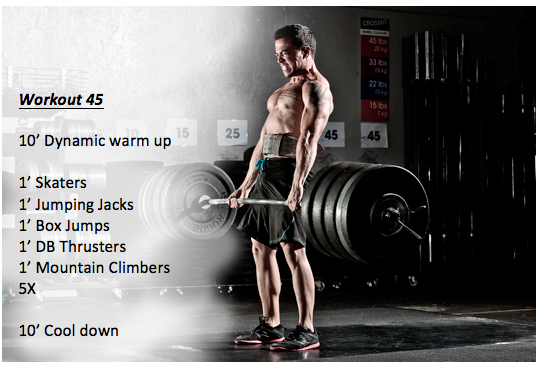 Workout 45