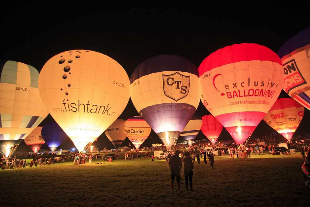 Branded hot ballons