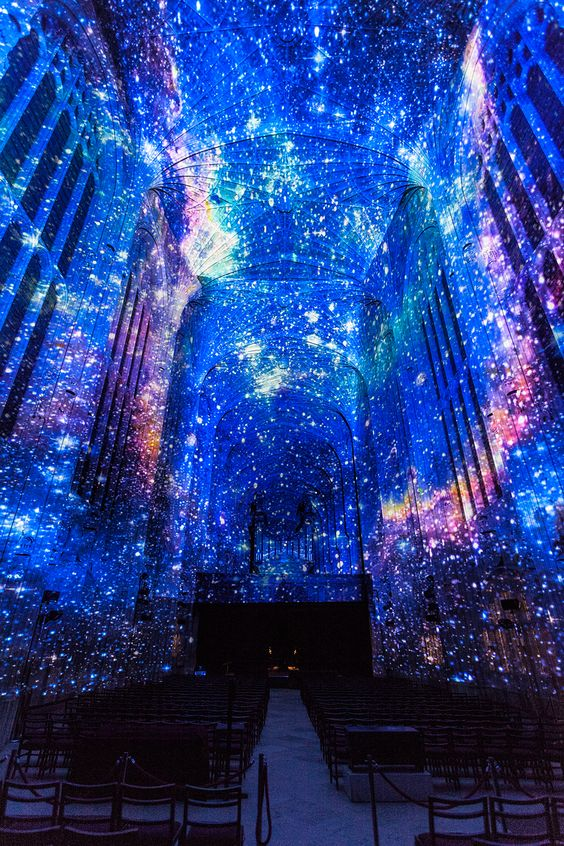 Astronomy_universe lighting event_architecture
