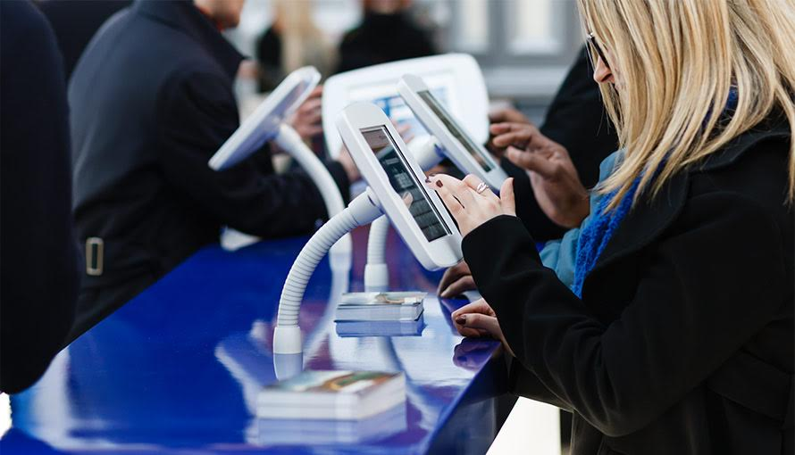 Using phone & tablet technology and apps can streamline the event for everyone.