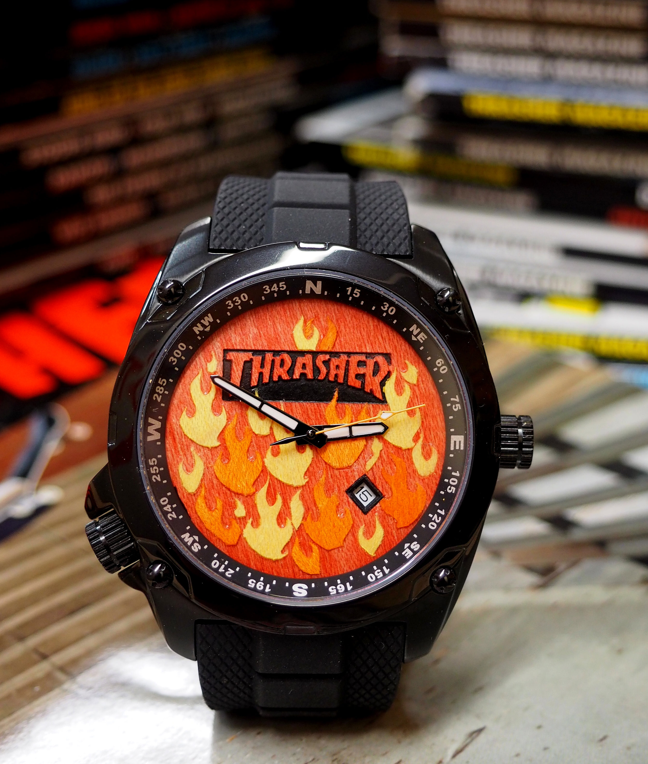 thrasher 2nd shot skate watch
