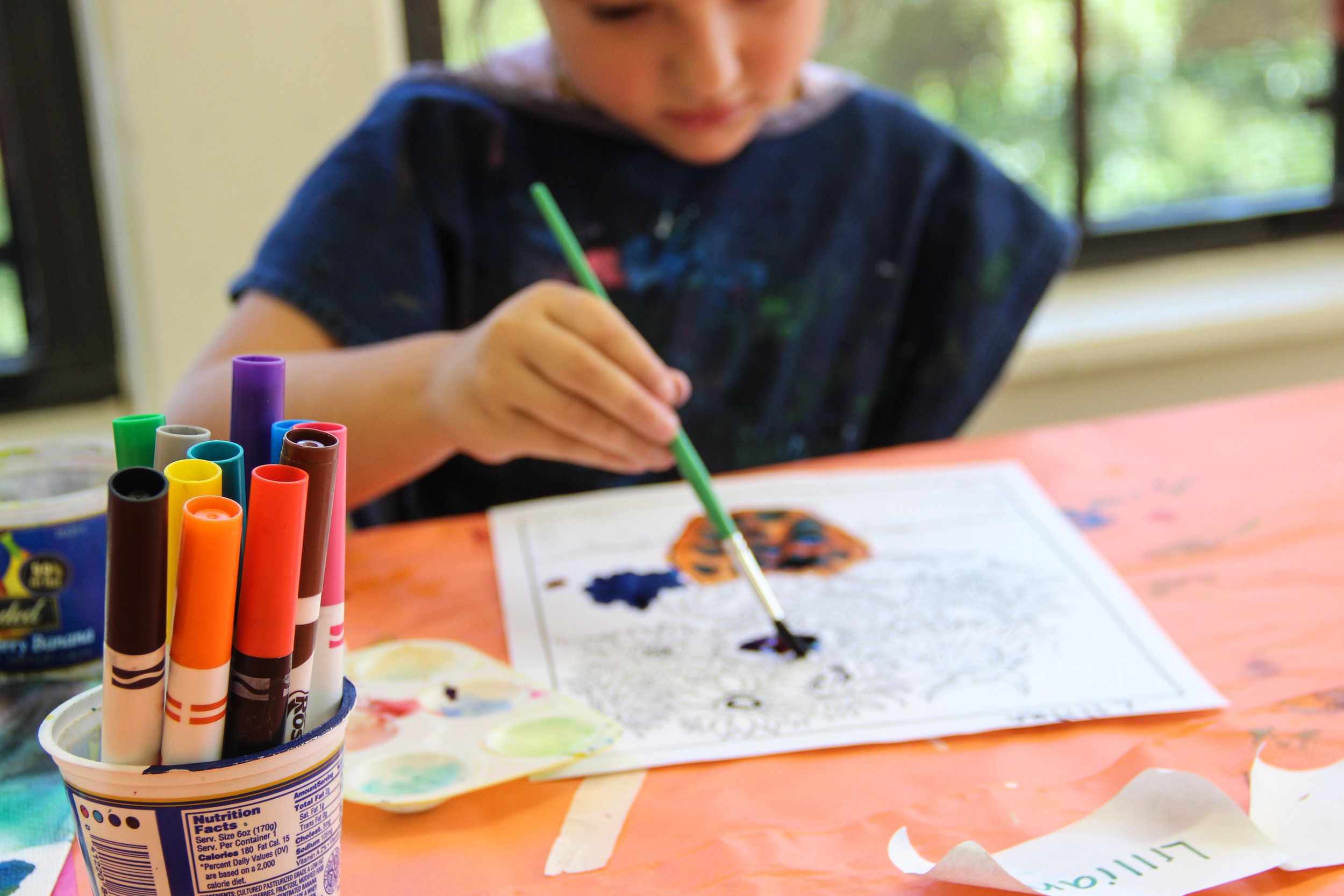 The Art Center of Waco offers classes in visual art for kids throughout the year, as well as Summer Art Camps. Last summer, they had 13 camps that reached 132 kids ages 5-16!
