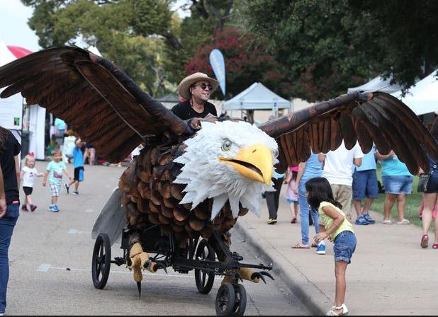 Austin Bike Zoo at Waco Cultural Arts Fest