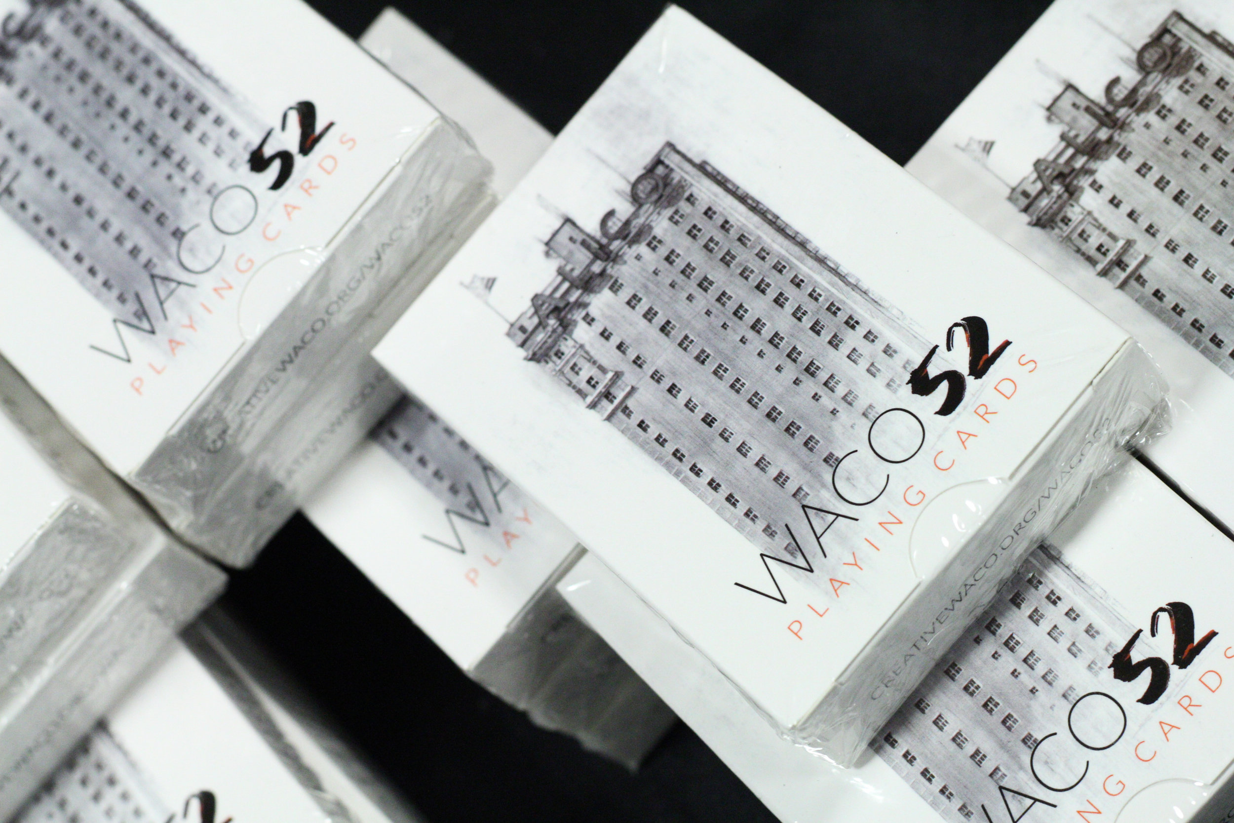 Decks of Waco 52 playing cards.
