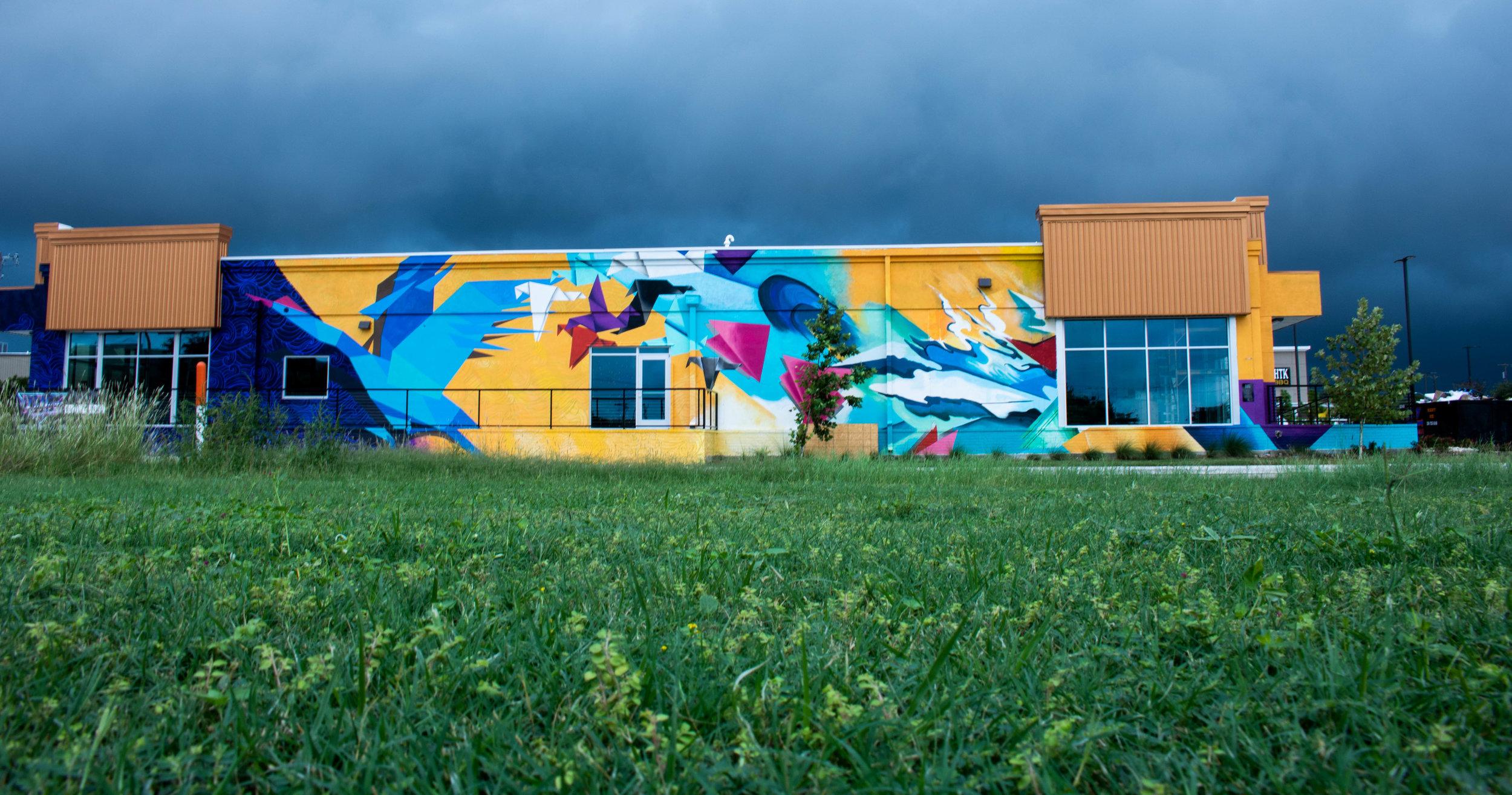 1000 Hopes for Waco / ARTPrenticeship 2018