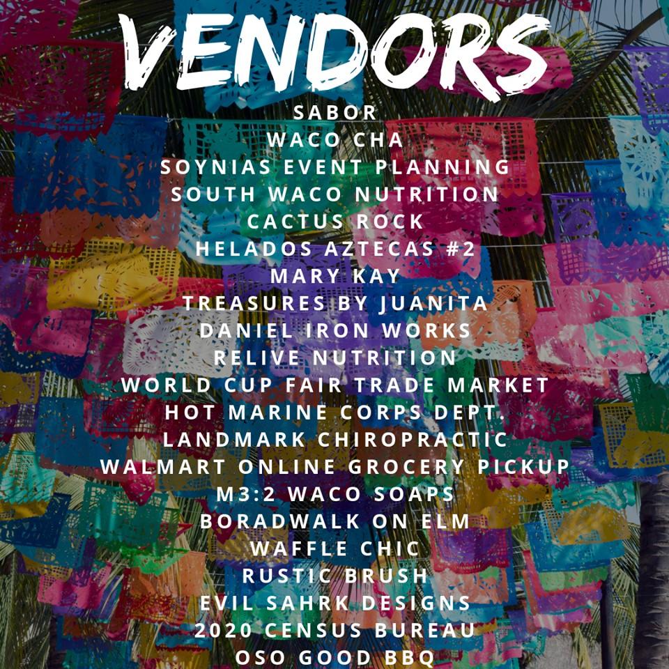 Aug. 25 Floating Mercado vendor list