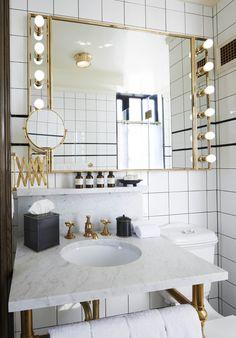 standard suite bathroom...