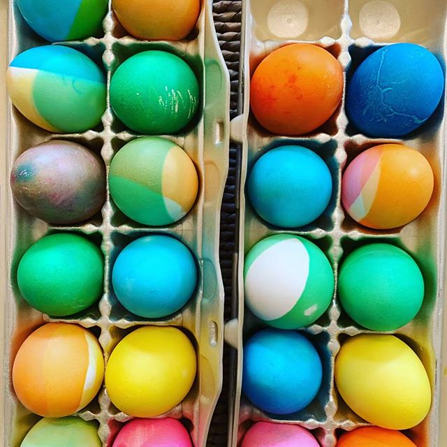 Feelin' the season. #eastereggs