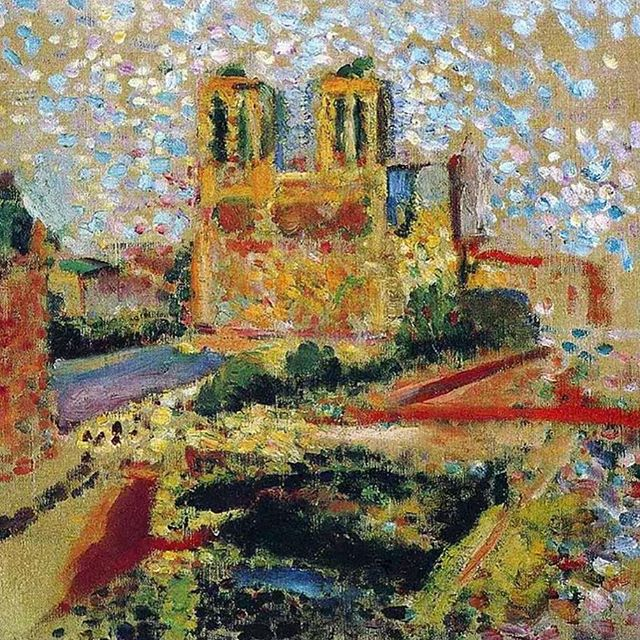 Unimaginable tragedy.  #matisse #notredame #iconicplaces #architecture #weloveparis #notredamedeparis