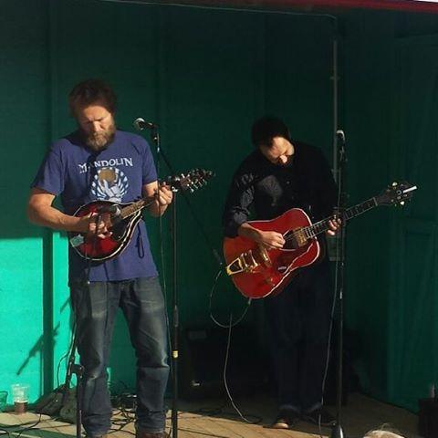 Twanging away on Southend Pier... The South Benfleet Folk Orchestra