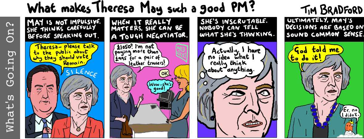 What makes Theresa May such a good PM? - 16/12/16