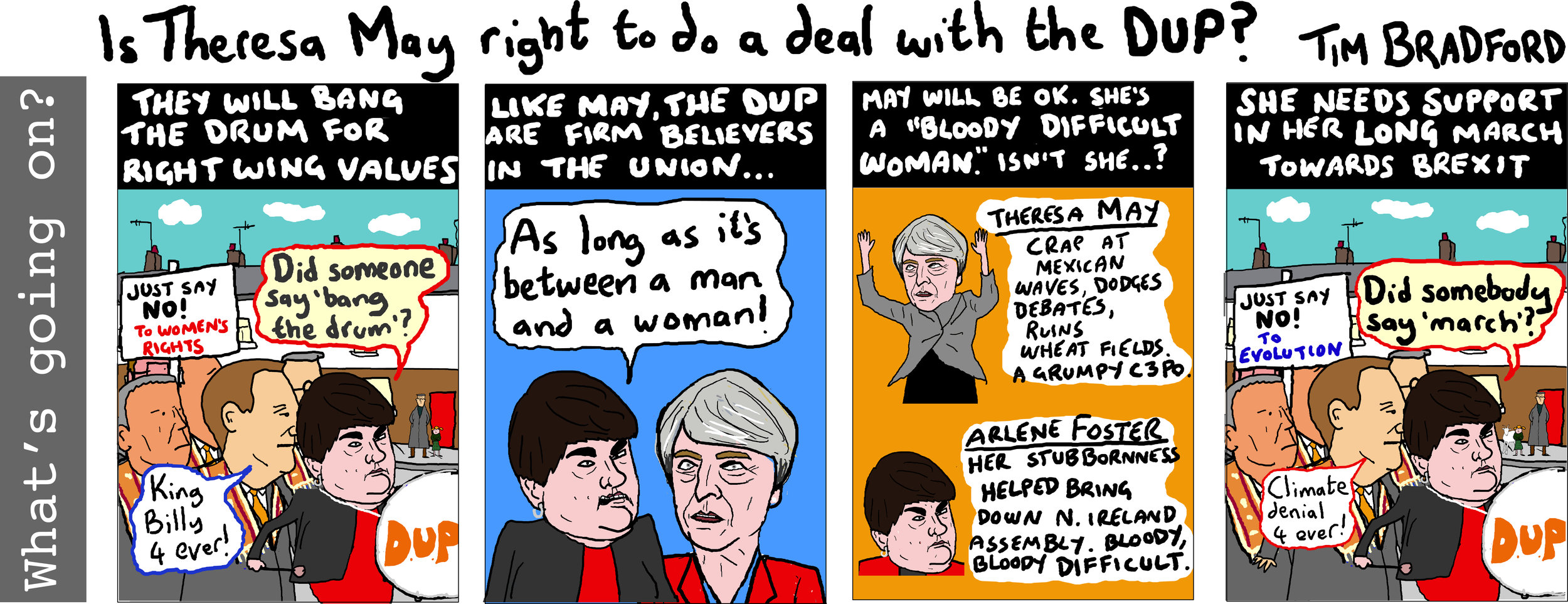 Is Theresa May right to do a deal with the DUP? - 16/06/17