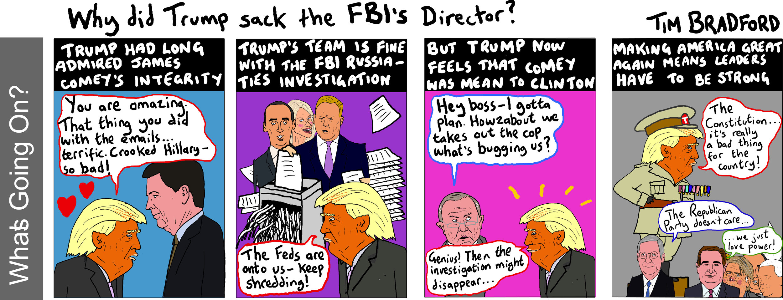 Why did Trump sack the FBI Director? - 12/05/17