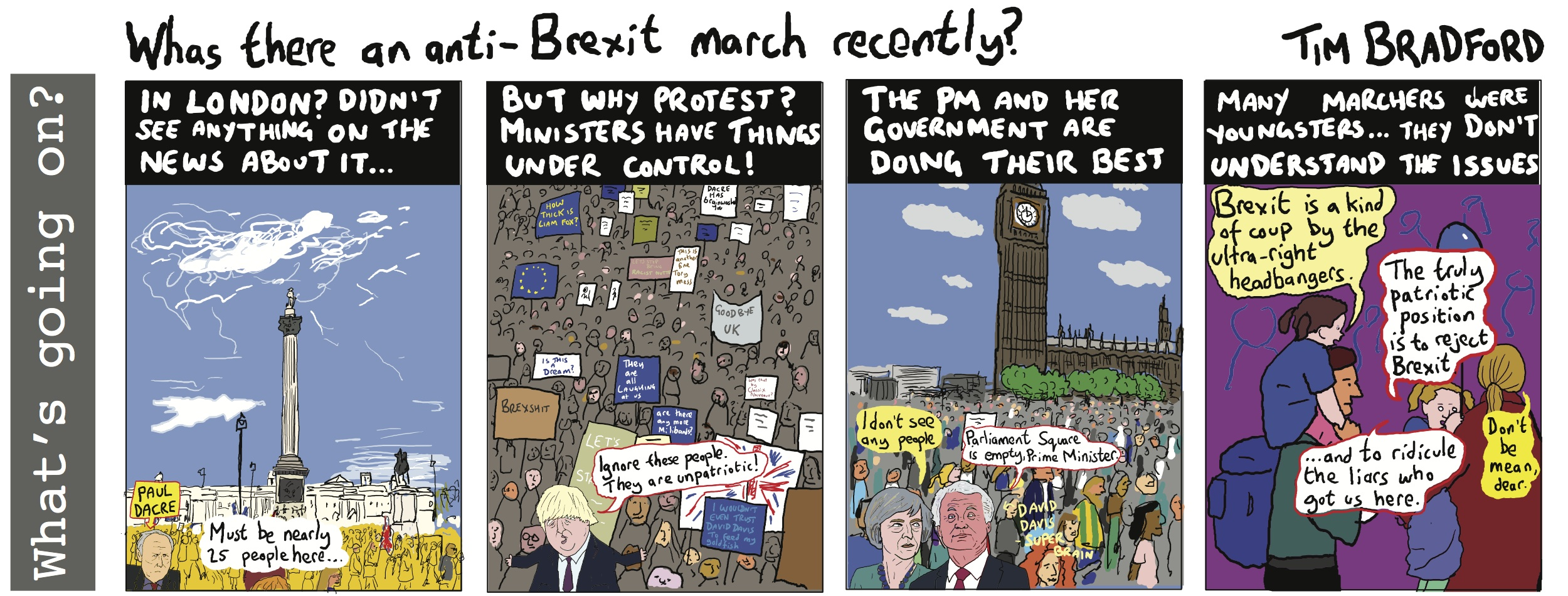 Was there an anti-Brexit march recently? - 28/03/17