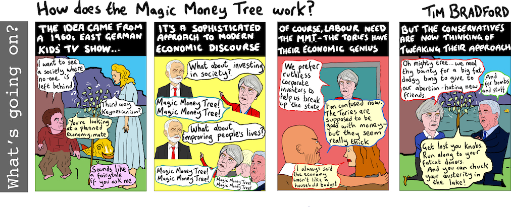 How does the Magic Money Tree work? - 28/06/17