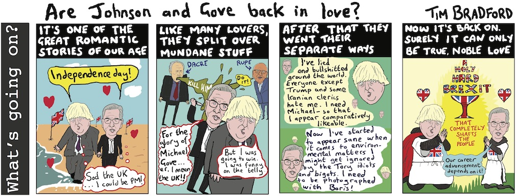 Are Johnson and Gove back in love? - 14/11/17
