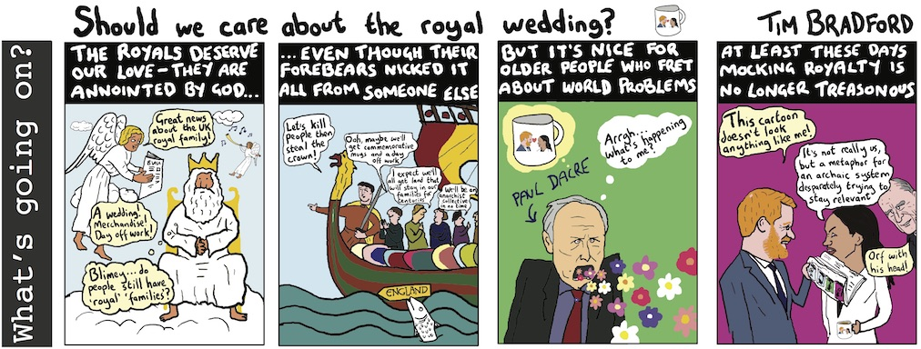 Should we care about the royal wedding? 28/11/17