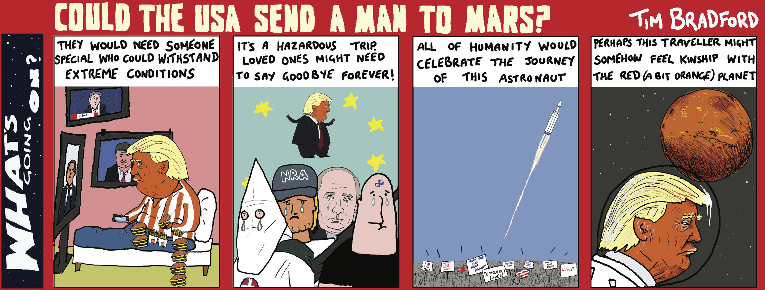 Copy of Could the USA send a man to Mars? 13/02/18