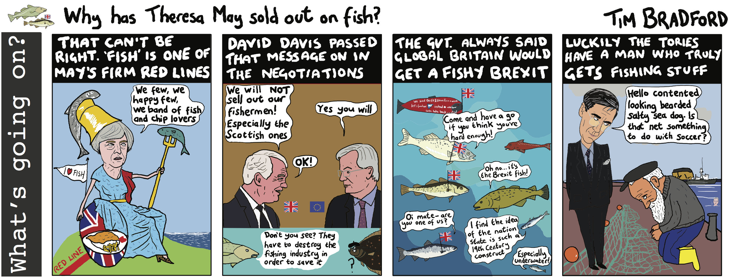 Why has Theresa May sold out on fish? - 20/03/18