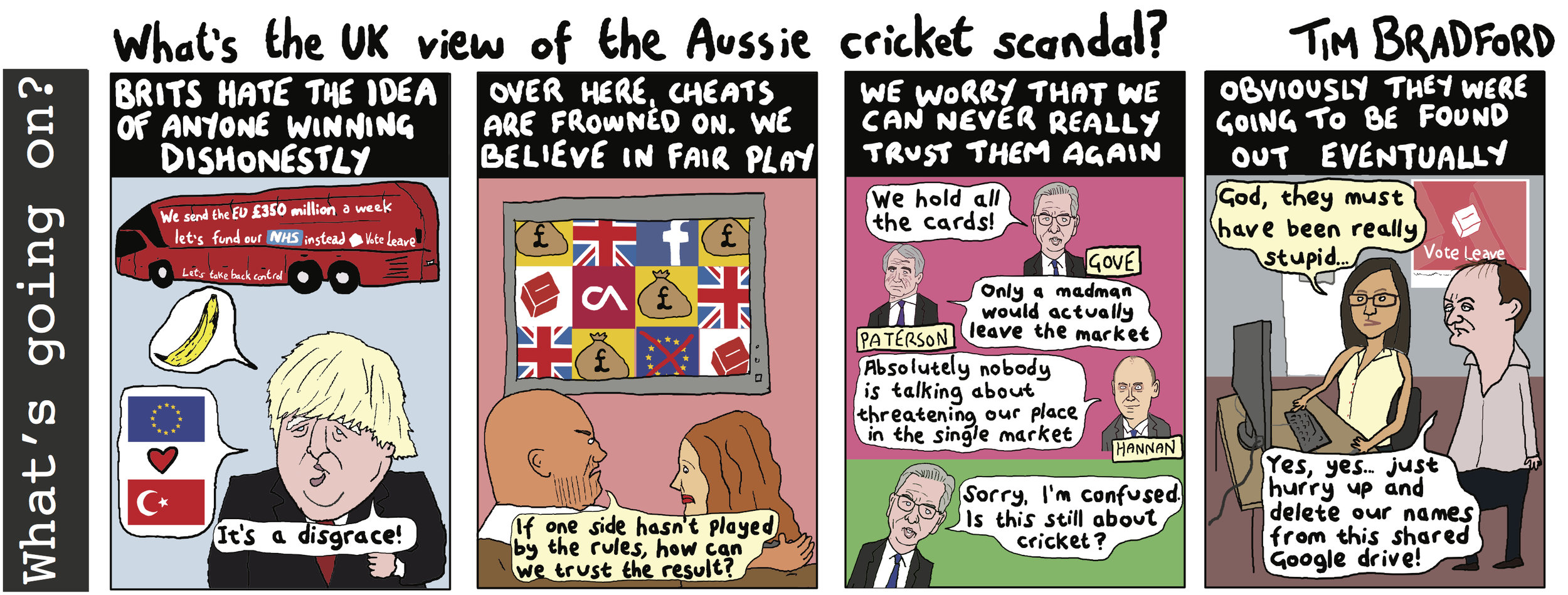 What's the UK view of the Aussie cricket scandal? - 27/03/18