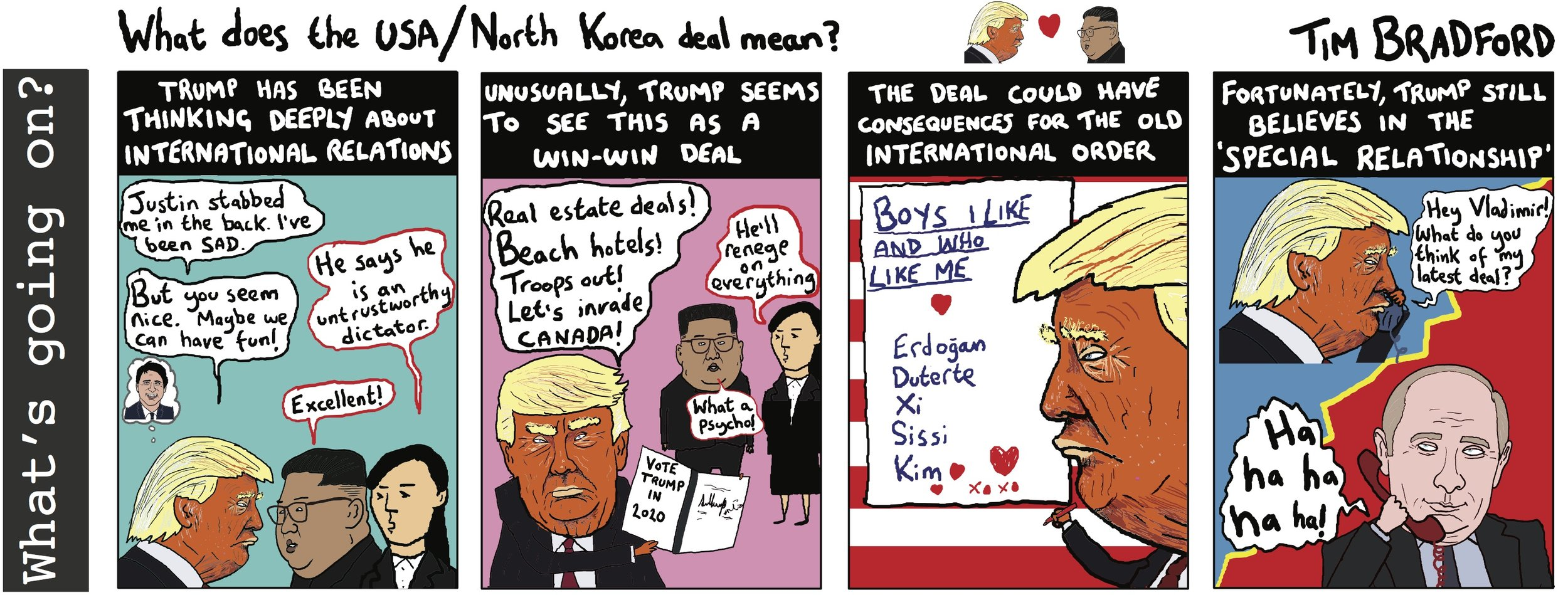 What does the USA/North Korea deal mean? - 13/06/2018