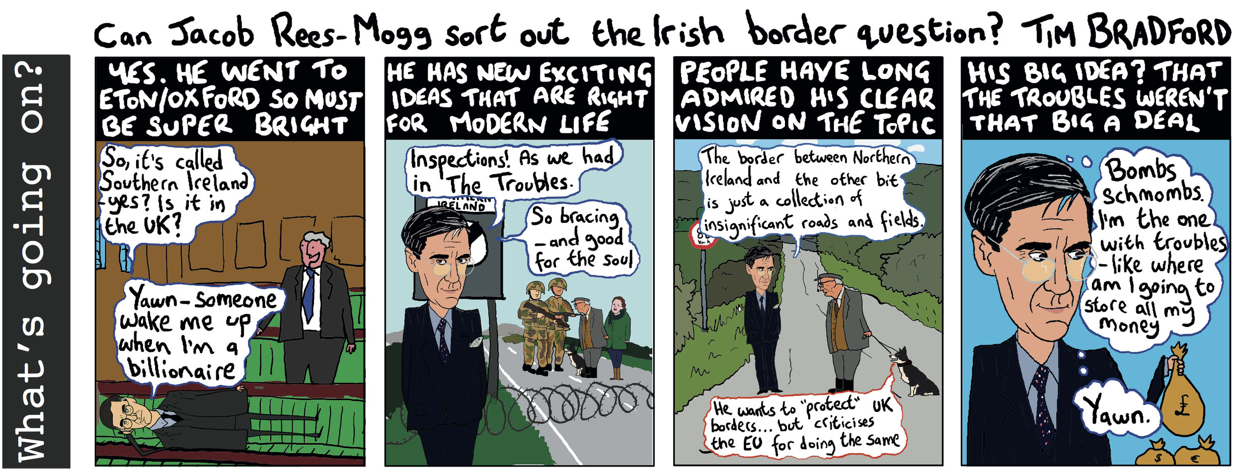 Can Jacob Rees-Mogg sort out the irish border question? - 04/09/18