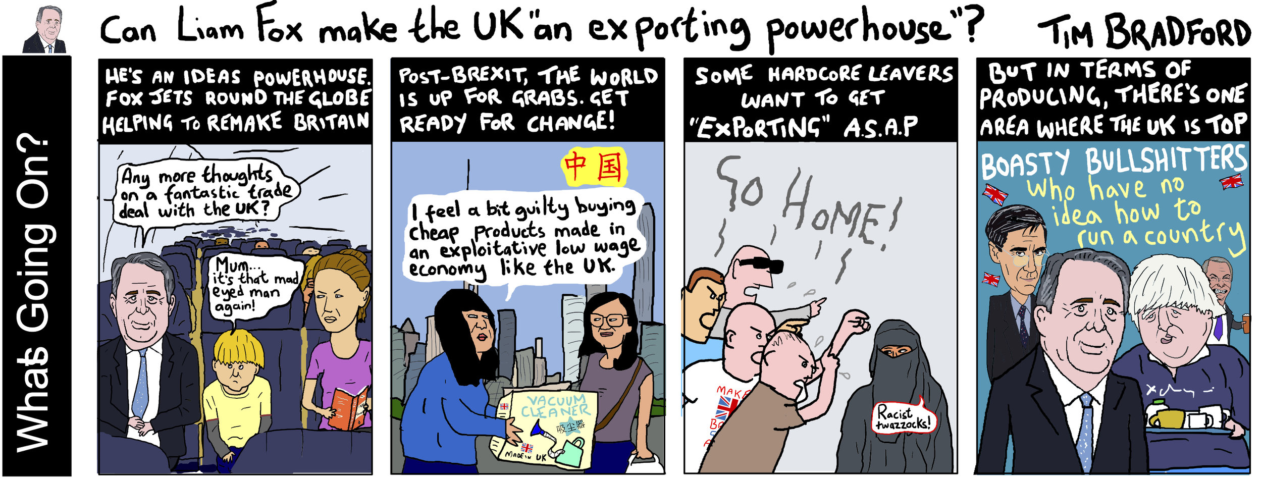 Can Liam Fox make the UK an 'exporting powerhouse'? - 21/08/18