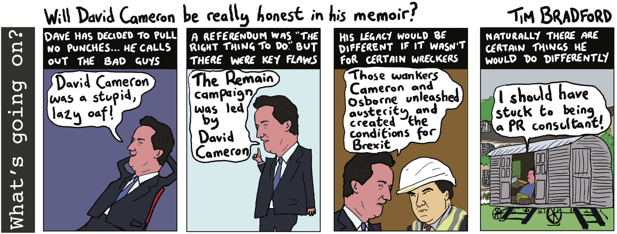 Will David Cameron be really honest in his memoir? - 07/08/18