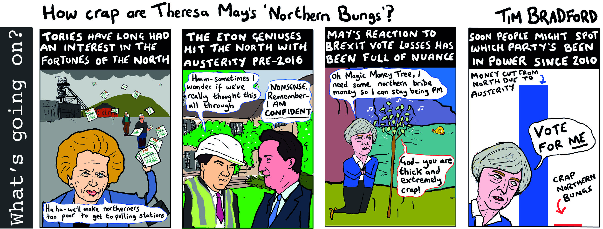 How crap are Theresa May's northern bungs? - 05/03/2019
