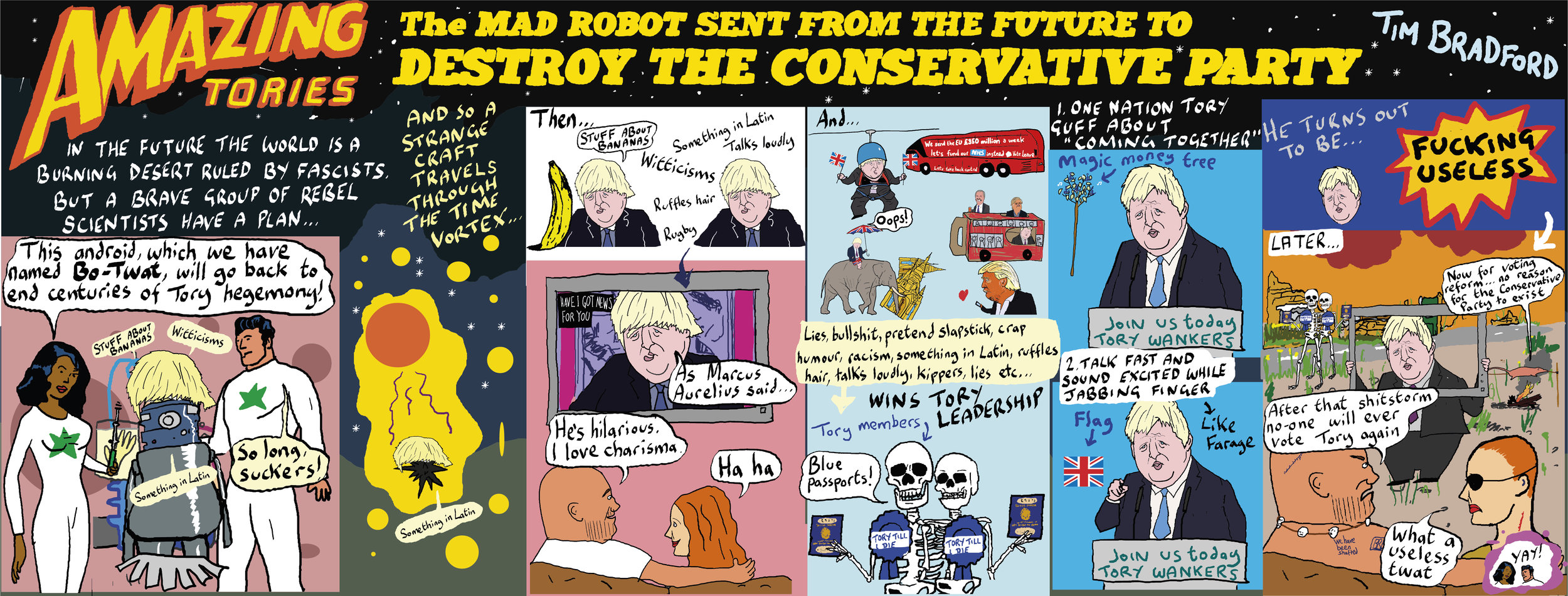 The Mad Robot Sent From The Future To Destroy The Conservative Party - 23/07/19